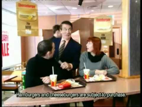 McDonald's - Retail Park (2000, UK) McDonald's takes on cheap advertising yet again, this time parodying furniture retailers like DFS for their January sale. Directed by David Hartley at Brave Films.