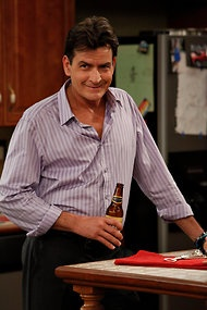 """Some takeaways from this QandA with Charlie Sheen: He initially stayed off twitter """"because John Mayer was using it;"""" he's angry at 3 a.m.; and just like you and me, he sets his alarm clock way across the room during the work week.  Oh, Charlie.  You're still our favorite warlock. ...Anger Management premieres June 28 on FX."""