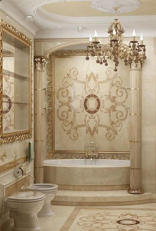 748 best images about beautiful bathrooms on pinterest for Luxury bathroom designs