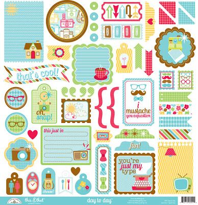 Doodlebug Design Inc Blog: Introducing the new Day to Day Collection