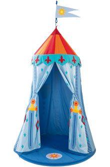 HABA - Erfinder für Kinder - Tienda colgante Tienda de campaña de los caballeros - Columpios + Tiendas de campaña - Habitaciones infantiles - Juguetes & Muebles
