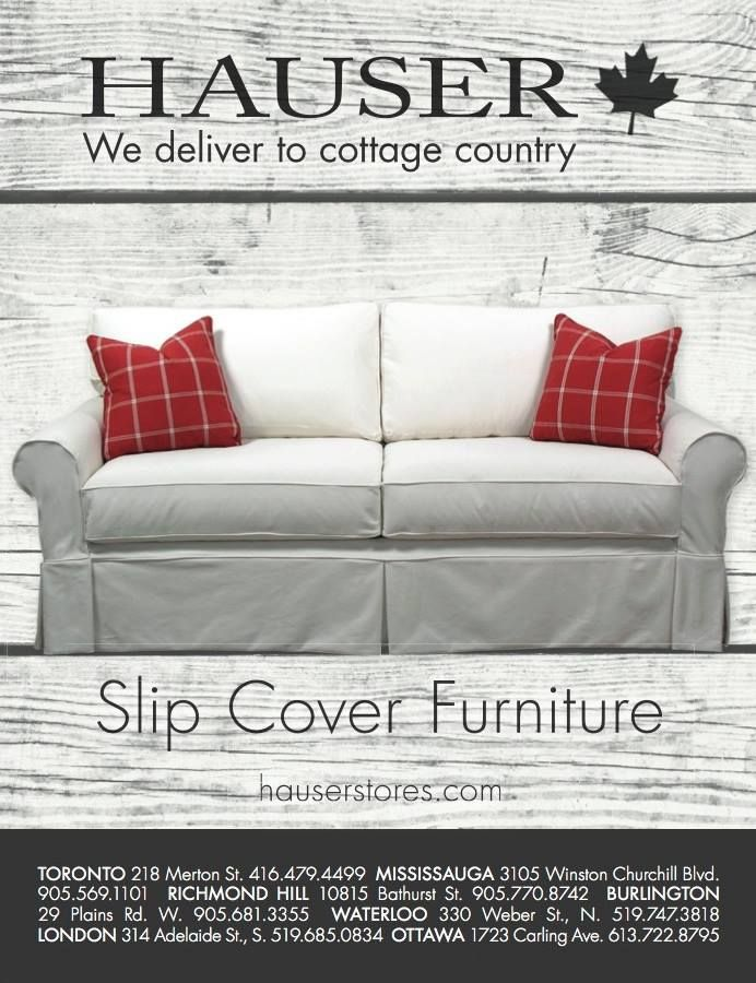 Planning on redecorating your cottage or chalet this fall? We deliver to cottage country! #CottageDecor