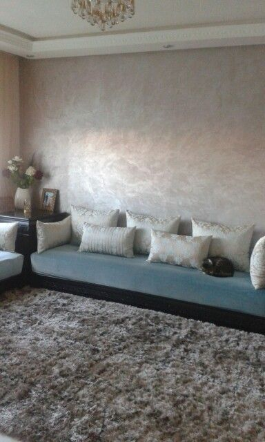 86 best moroccan living room images on pinterest - Peinture salon marocain ...