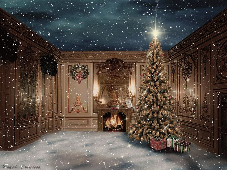 Classic Christmas Motion Background Animation Perfecty: Merry_christmas_animated_by