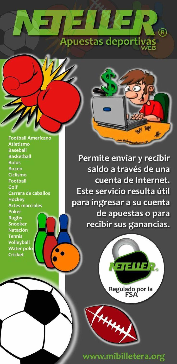 #Neteller para divertirte en tus apuestas deportivas #Carga tu saldo en #Colombia mibi.cl y #Chile mibi.cl www.mibilletera.org