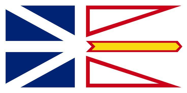 Flag of Newfoundland and Labrador, Canada