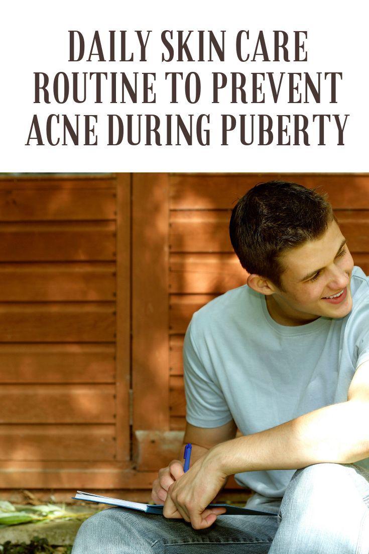 Tägliche Hautpflege zur Vorbeugung von Akne in der Pubertät – Parenting