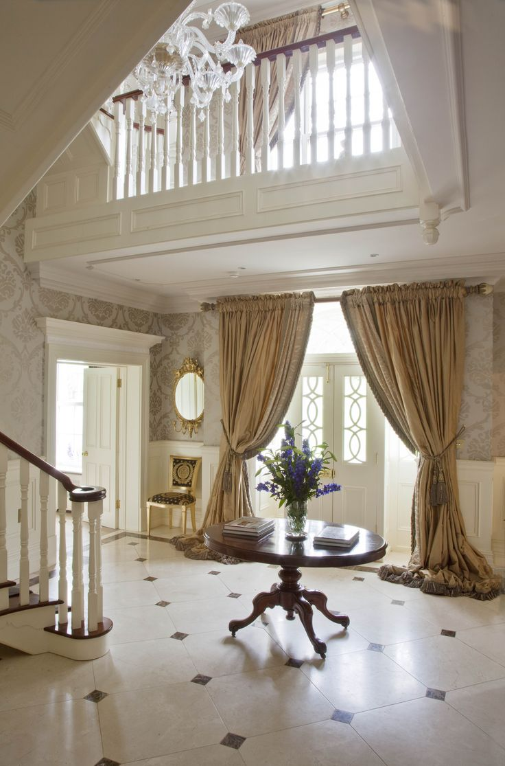 1000 images about irish country homes on pinterest for Beautiful window treatments