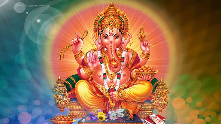 Free download Ganpati photo hd full size to decorate your desktop computer, mobile & laptop background screen from our lord ganesha image collection.
