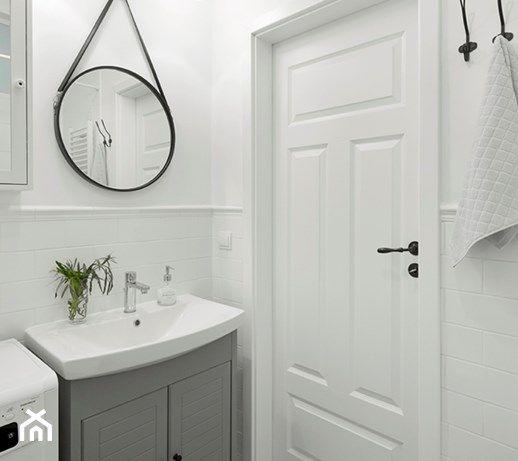Elegant Black and White Bathroom Cabinets