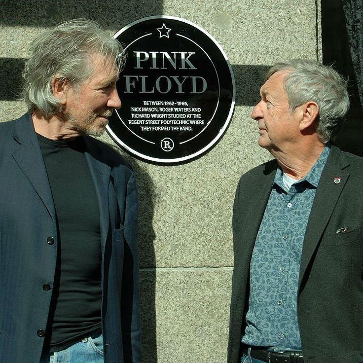Pink Floyd members meet to mark their 50th anniversary