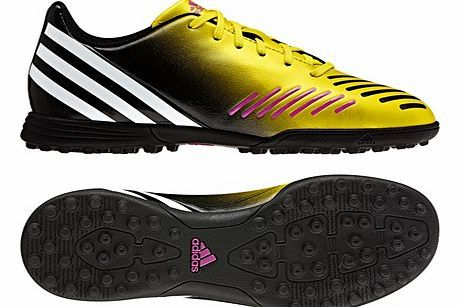 Adidas Predito LZ TRX Astroturf Trainers - Vivid adidas Predito LZ TRX Astroturf Trainers - Vivid Yellow/Running White/Black - Kids http://www.comparestoreprices.co.uk/football-equipment/adidas-predito-lz-trx-astroturf-trainers--vivid.asp