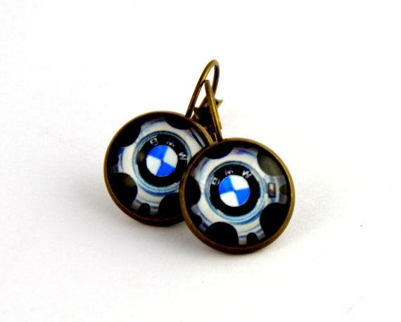 Check out this item in my Etsy shop https://www.etsy.com/listing/477235616/fashion-bmw-logo-earrings-bronze-color