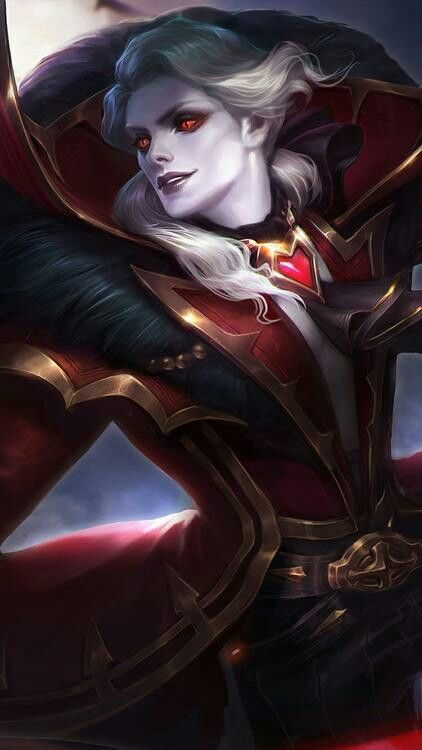 skin Alucard 'Viscount'. From: MLBB