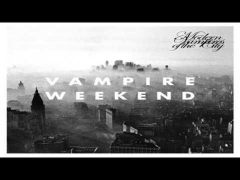 Hannah Hunt - Vampire Weekend. Favorite song by them.