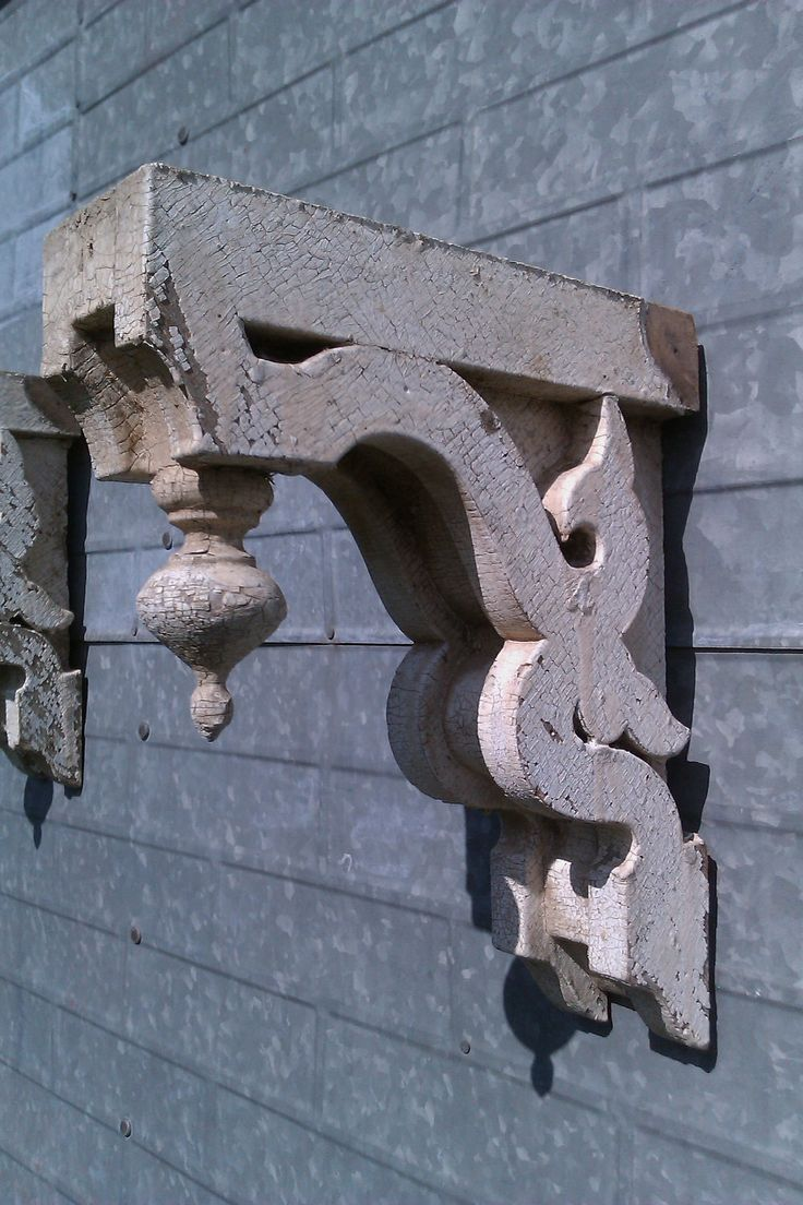 Antique Architectural Corbels, One Pair, Antique, Victorian Farmhouse, Shabby Chic