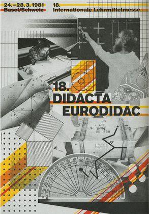 Didacta Eurodidac  Wolfgang Weingart (Swiss, born 1941)