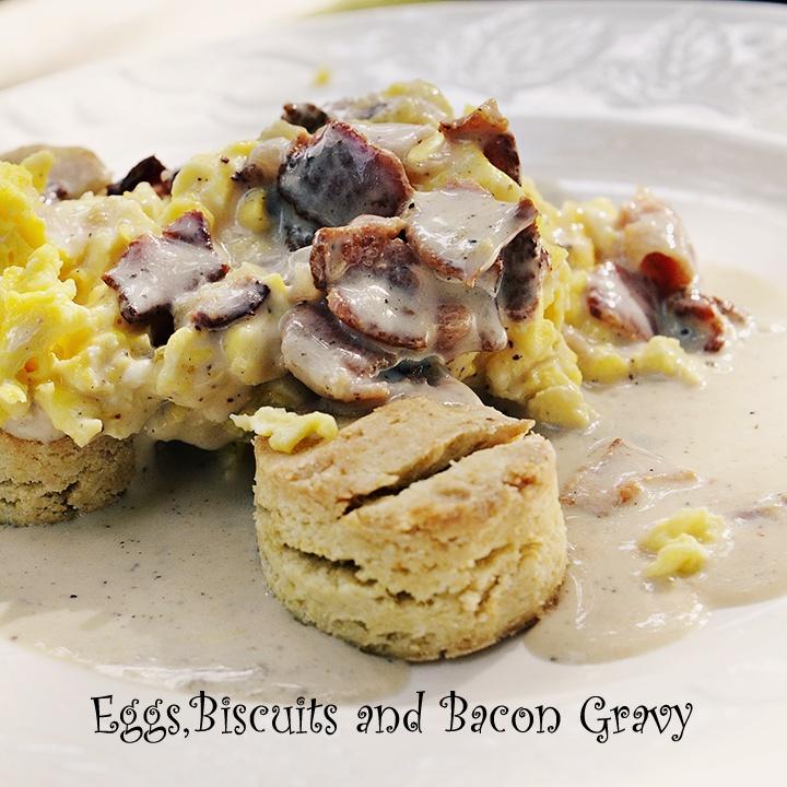 Gluten-free Bacon Gravy, Biscuits recipe