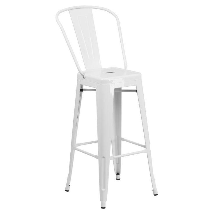 Flash Furniture Collins 30 in. Metal Bar Stool