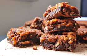 recette de brownie aux bretzels caramélisés