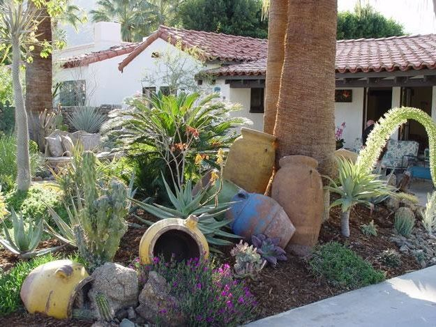 Let Relics Tell A Story Garden idea