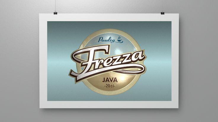 Branding for Frezza Java, a ready to drink coffee. (2001)