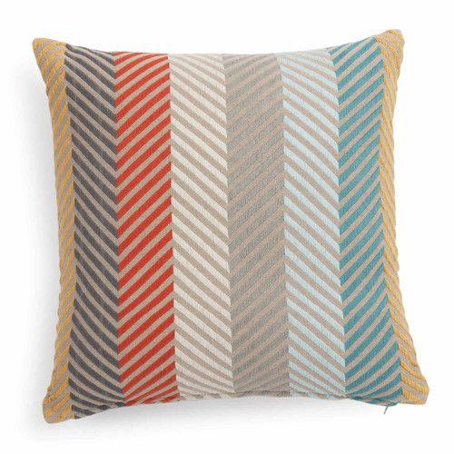 Fodera di cuscino multicolore in cotone 40 x 40 cm LIO