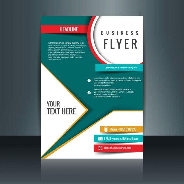 Moderne modèle de brochure Vecteur gratuit