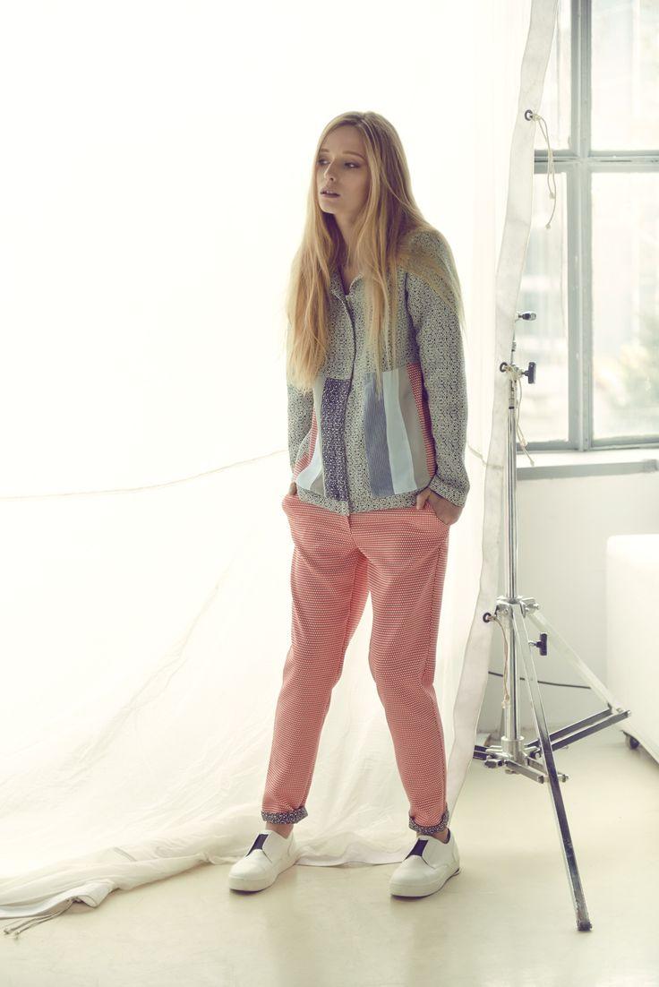 New Inga Buczynska campaign for spring - summer 2015. Minimal, modern fashion.