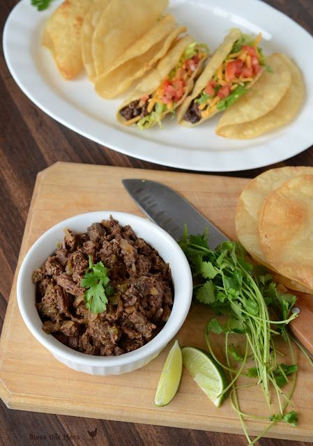 ... Steak, Beef Recipe, Carnitas Tacos, Steak Carnitas, Crockpot Recipe