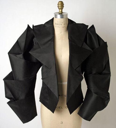 Issey Miyake  Origami jacket  S/S 1991                                                                                                                                                                                 More