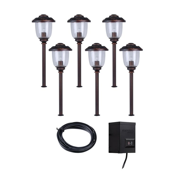 23 with a number of portfolio landscape lighting replacement parts - Landscape Lighting Kits