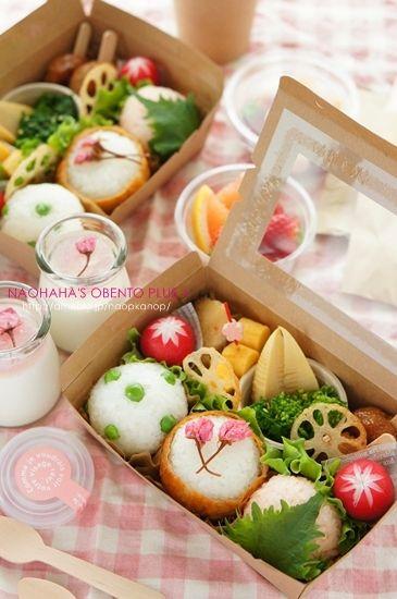 【掲載】大人のお花見弁当++ naohaha's obento*