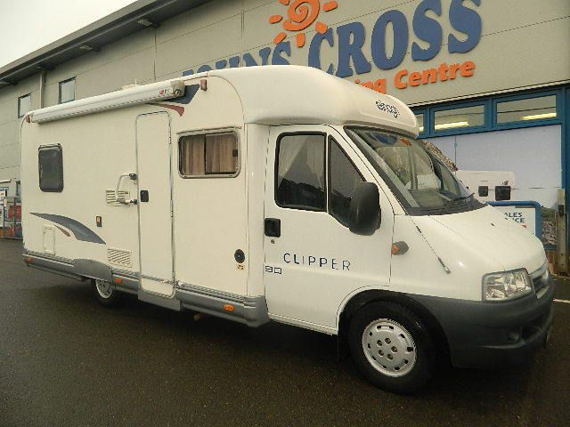 Johns Cross Motorcaravan and Camping Centre  - Elnagh Clipper 90, �21,995.00 (http://www.johnscross.co.uk/products/elnagh-clipper-90.html)