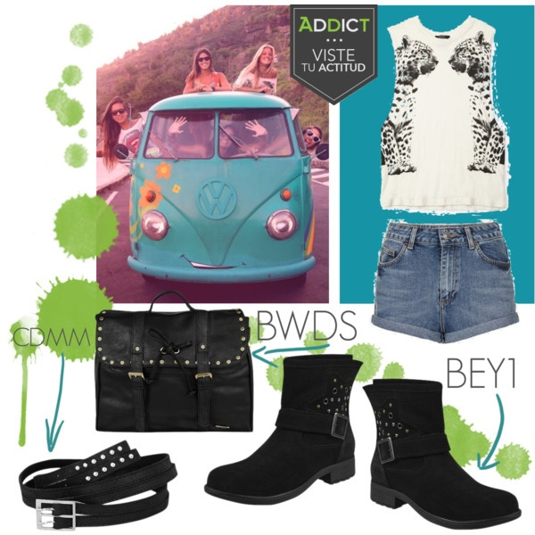 """Addict viste tu actitud 