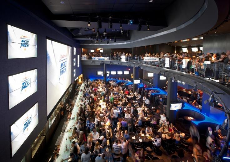 The Real Sports Bar, Toronto, Canada.