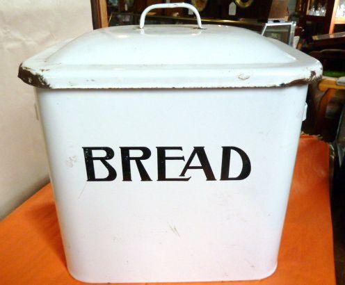 Enamelware Bread Box