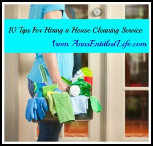 How do you get hired to clean houses?