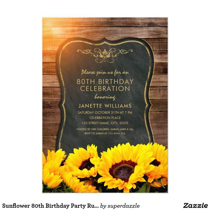 368 best Adult Birthday Invitations images on Pinterest ...