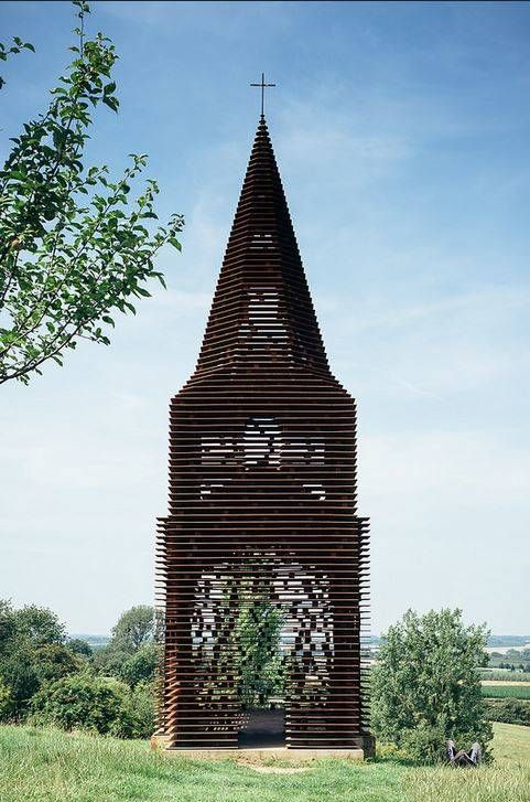 This Church in Belgium Was Brilliantly Designed to Look Different From All Angles - Dose - Your Daily Dose of Amazing