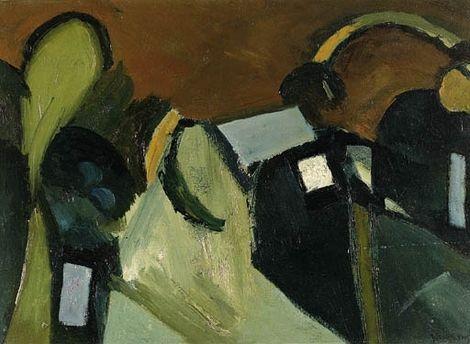 Keith Vaughan, Landscape on ArtStack #keith-vaughan #art