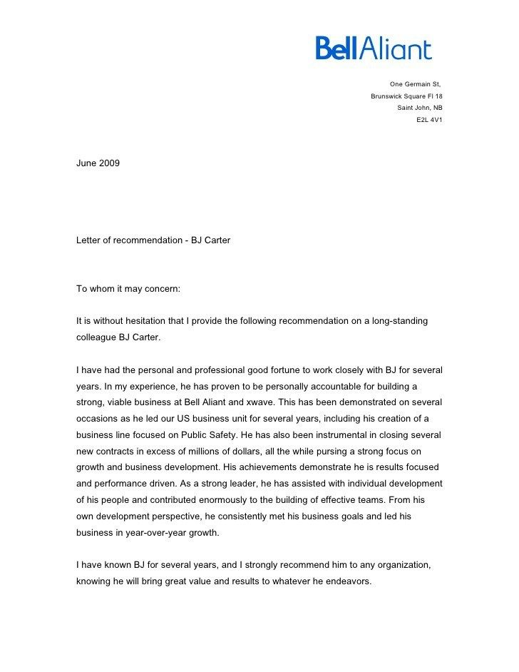 The 25+ best Writing a reference letter ideas on Pinterest Bad - work reference letter
