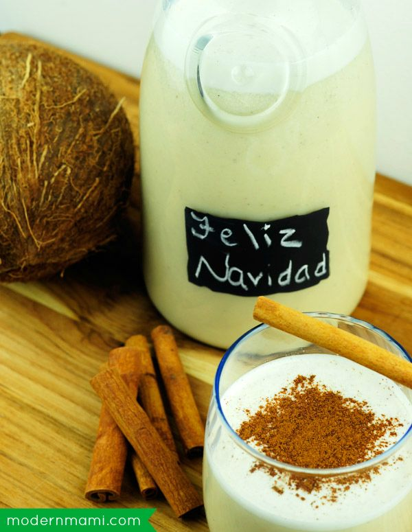 Easy coquito recipe and video showing you how to make coquito, a delicious Puerto Rican holiday drink! We hope you enjoy some coquito this Nochebuena and Navidad!