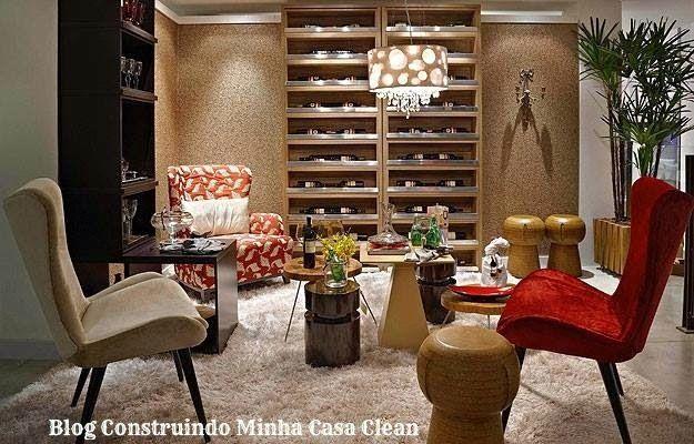 21 bares e adegas modernas em casa veja dicas e modelos - Bares pequenos para casas ...