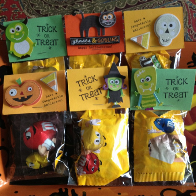 diy halloween gift bag idea from ctmh treat holders pinterest diy halloween gifts diy halloween and bag
