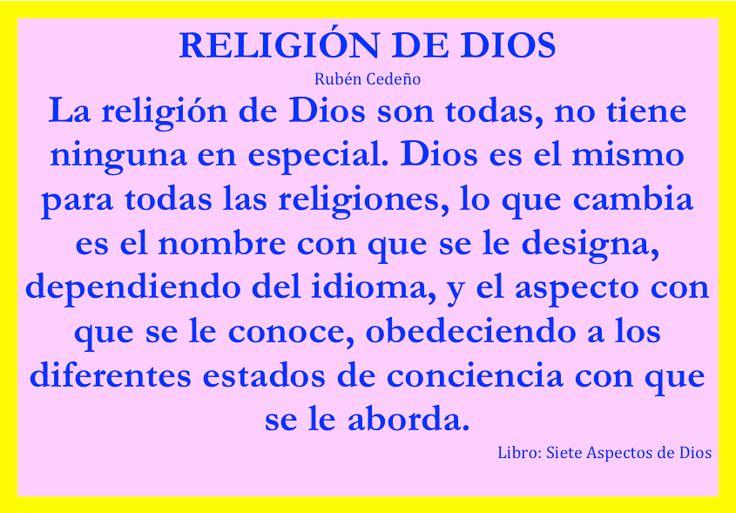 Religión de Dios