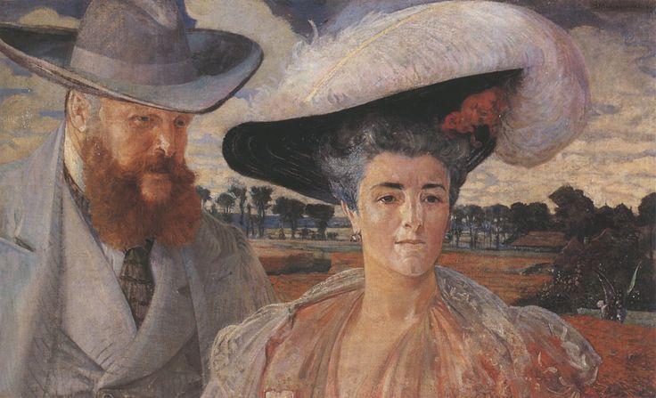 Karol & Małgorzata Lanckorońscy by Jacek Malczewski