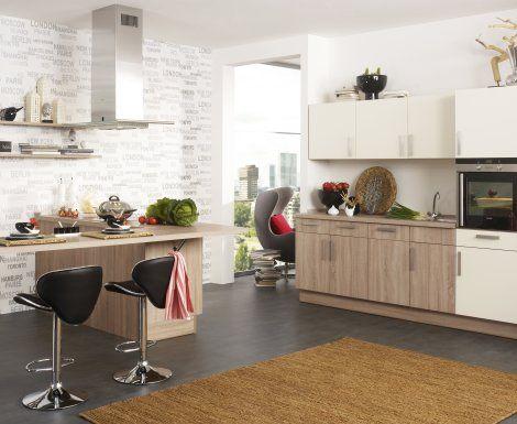 Moderní designová kuchyně Carla. Kuchyně a spotřebiče jedné značky - gorenje. #kuchyně #design #interiér #domov #gorenje