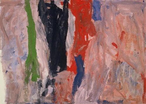 Philip Guston. Last Piece. (1958)