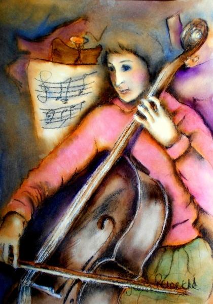 lovely cello art